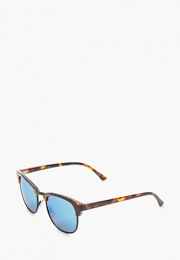 женские квадратные солнцезащитные очки vans, коричневые
