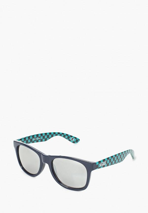 женские солнцезащитные очки vans, синие