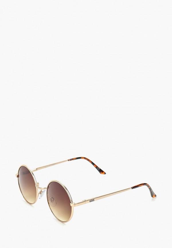 женские солнцезащитные очки vans, коричневые