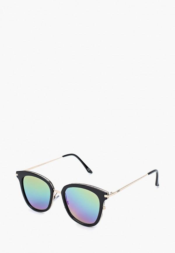 женские квадратные солнцезащитные очки vans, черные
