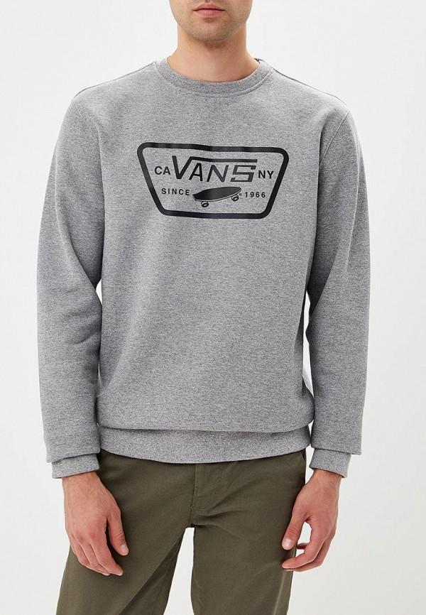 Купить Свитшот Vans, VA984EMCAKD8, серый, Осень-зима 2018/2019