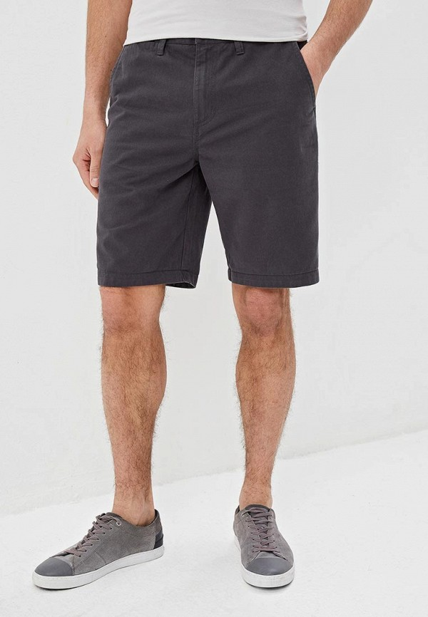 мужские повседневные шорты vans, серые