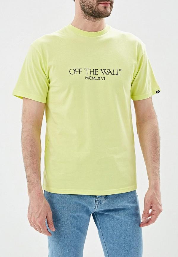 мужская спортивные футболка vans, желтая