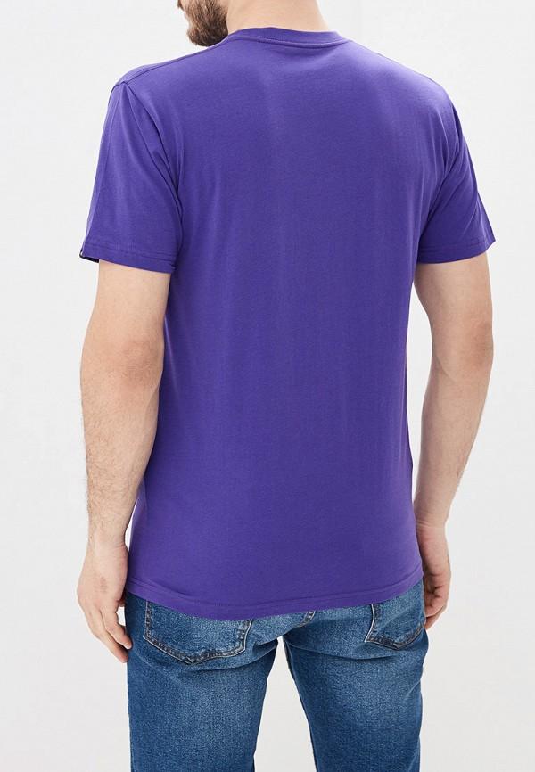 Фото 3 - мужскую футболку Vans фиолетового цвета