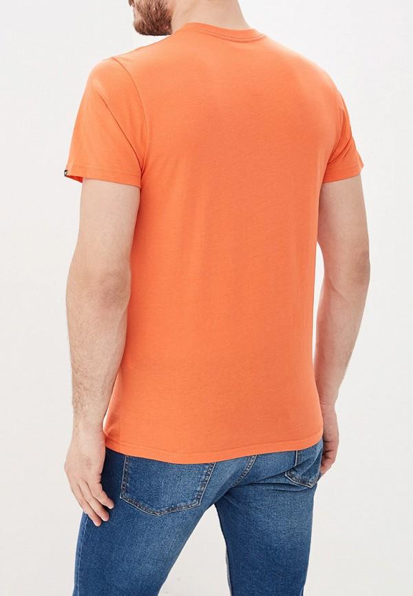 Фото 3 - Футболку спортивная Vans оранжевого цвета