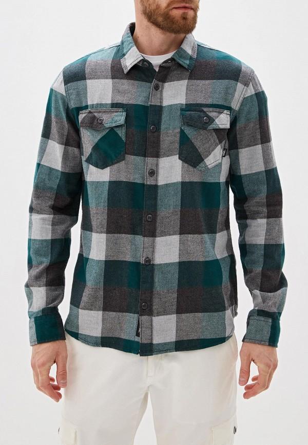 мужская спортивные рубашка vans, зеленая