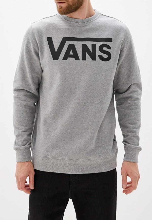 мужской свитшот vans, серый