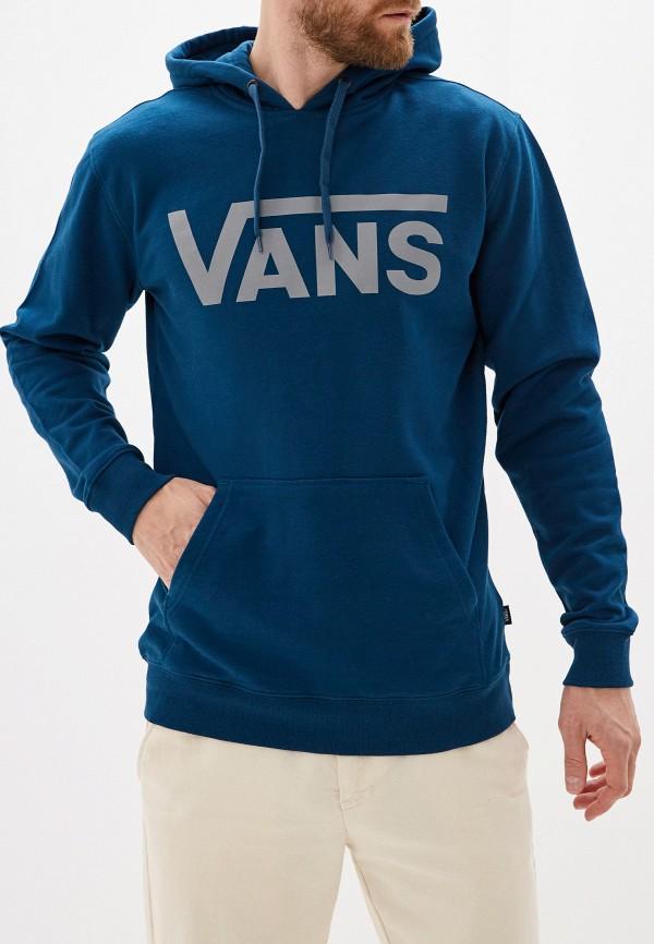 мужские худи vans, бирюзовые