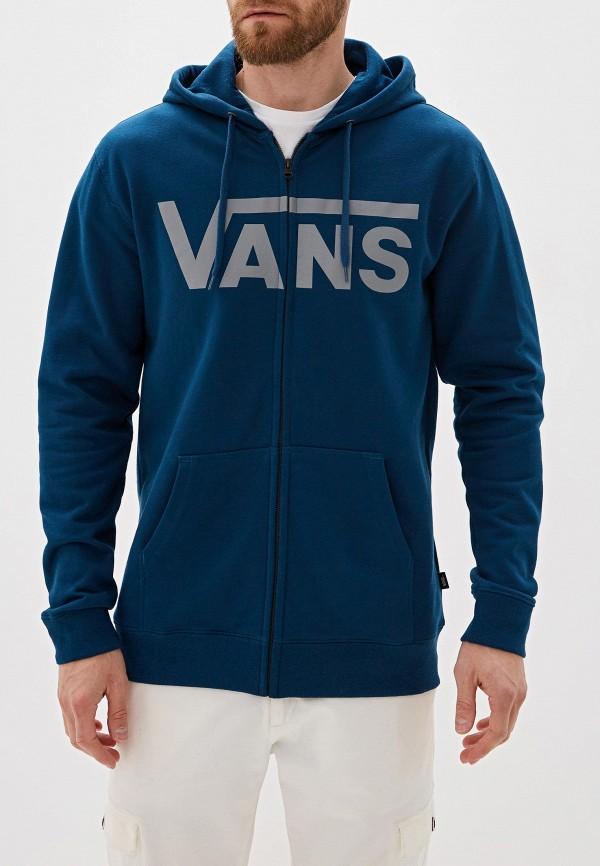 мужская толстовка vans, синяя