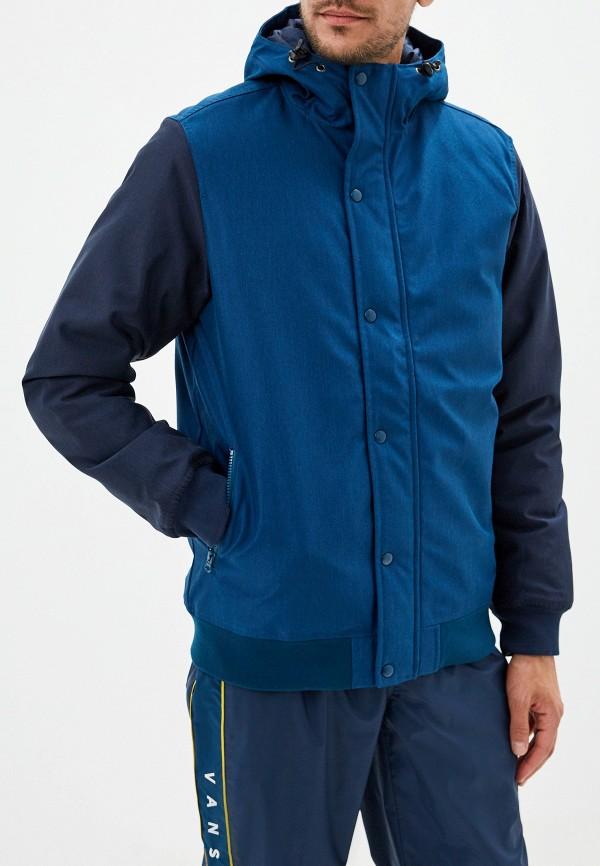 мужская куртка vans, синяя