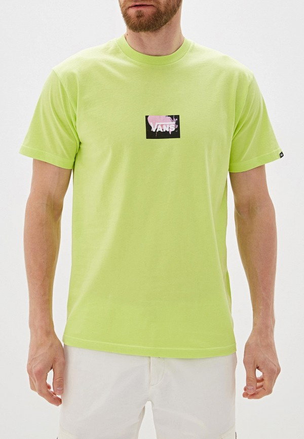 мужская спортивные футболка vans, зеленая