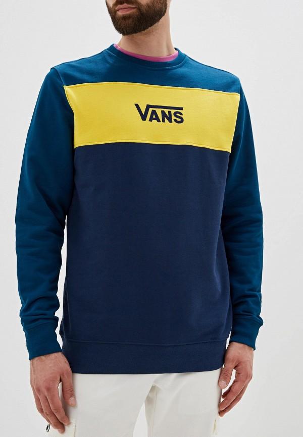 Фото - Свитшот Vans Vans VA984EMGDBL1 кеды мужские vans ua sk8 mid цвет белый va3wm3vp3 размер 9 5 43