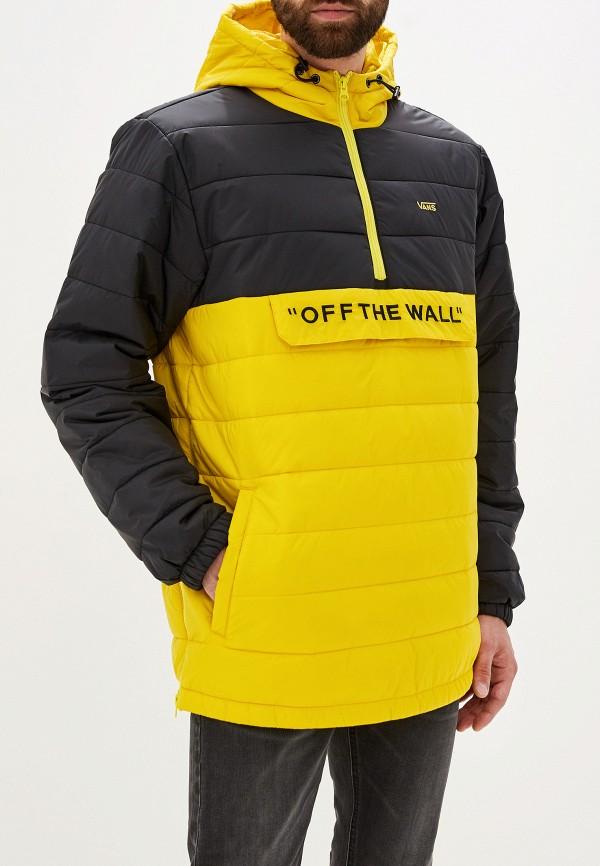 мужская куртка vans, желтая