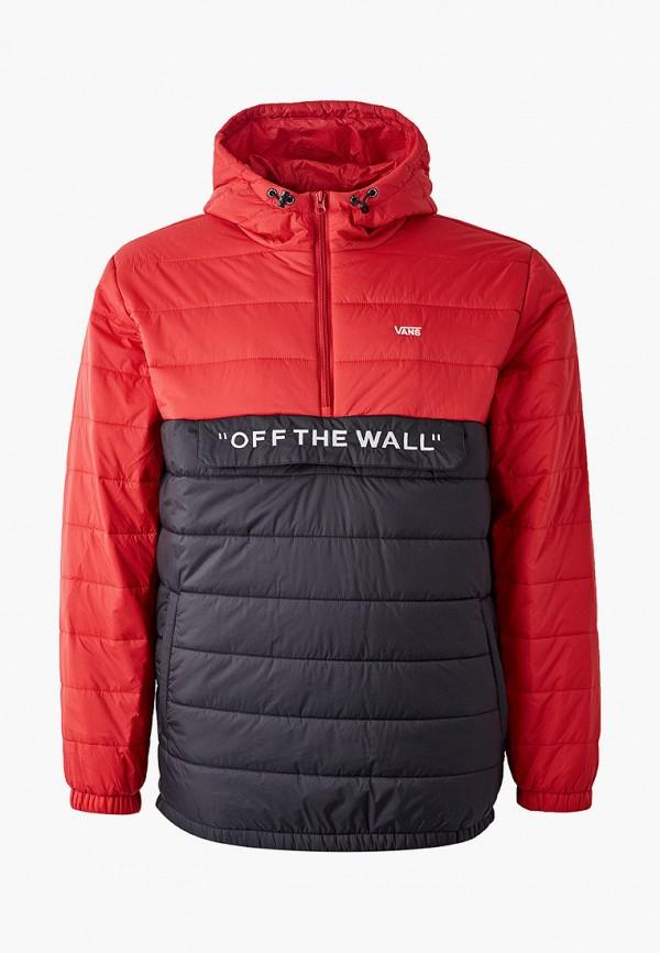 мужская куртка vans, красная
