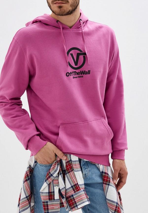 мужские худи vans, розовые