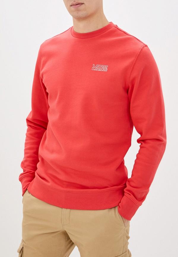 мужской спортивные свитшот vans, розовый