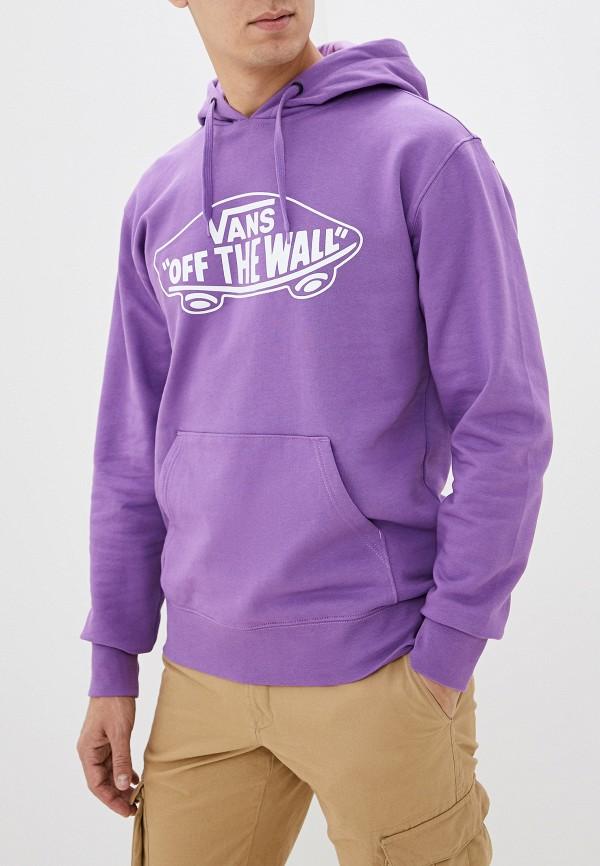 мужские худи vans, фиолетовые