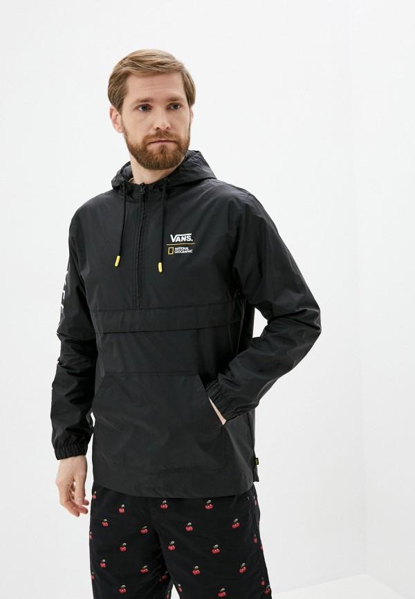 мужская куртка vans, черная