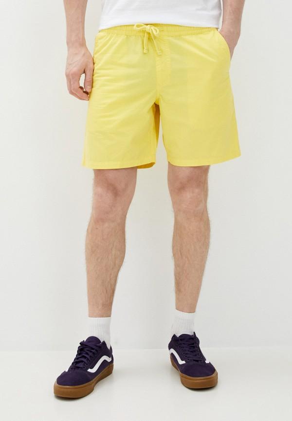 мужские спортивные шорты vans, желтые