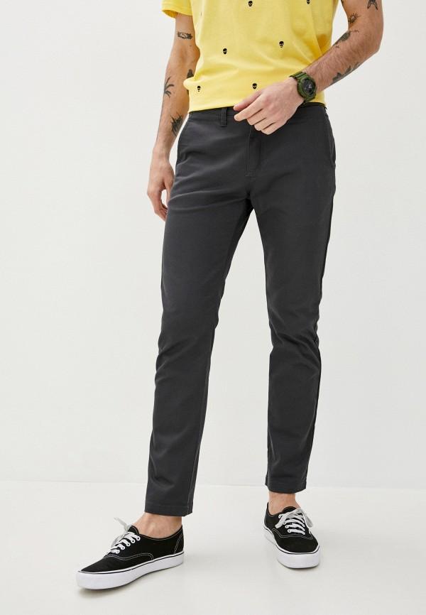 мужские брюки чинос vans, серые