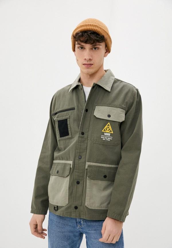 мужская куртка vans, хаки