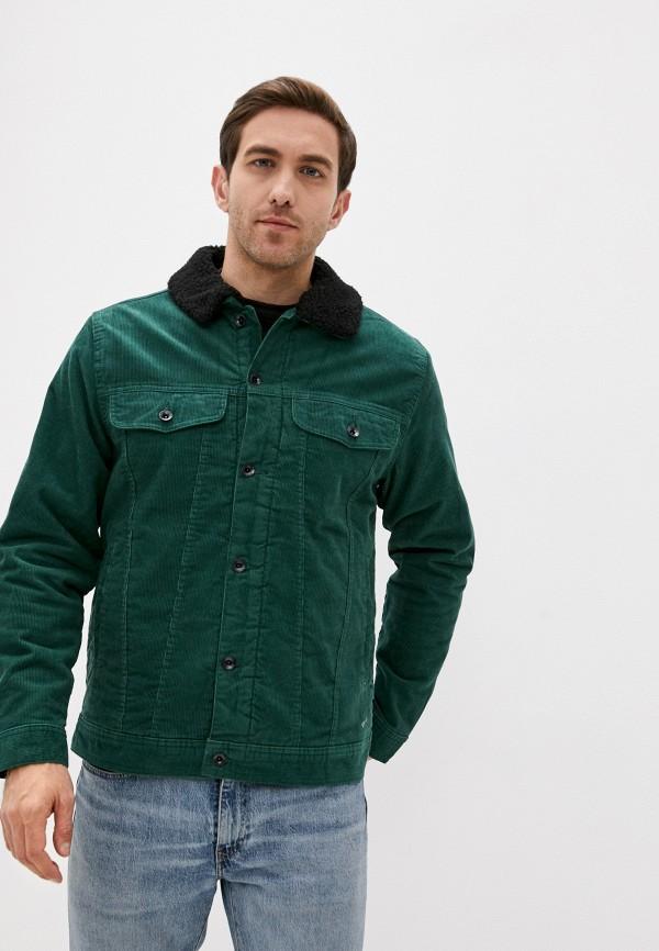 мужская куртка vans, зеленая