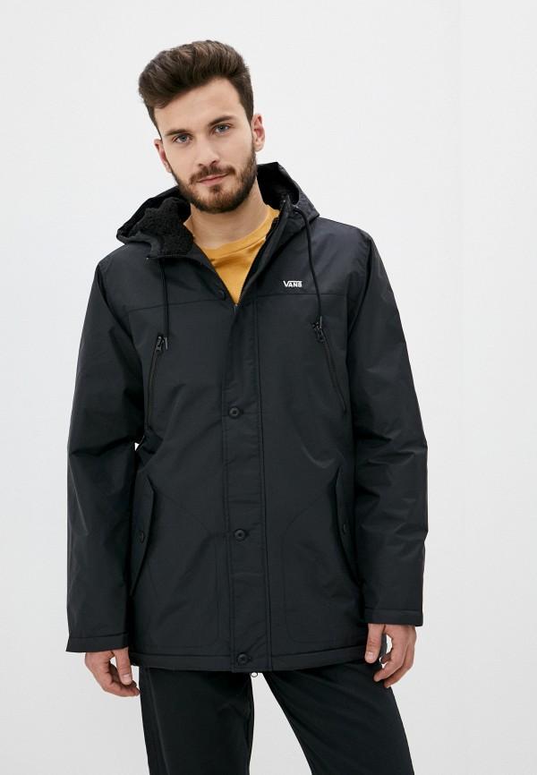 мужская спортивные куртка vans, черная