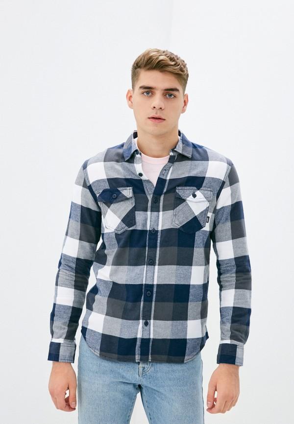 мужская рубашка vans, синяя