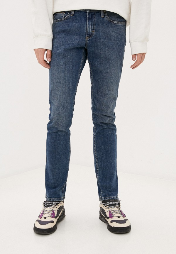мужские джинсы vans, синие