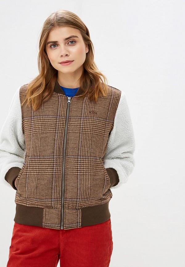 женская куртка vans, разноцветная