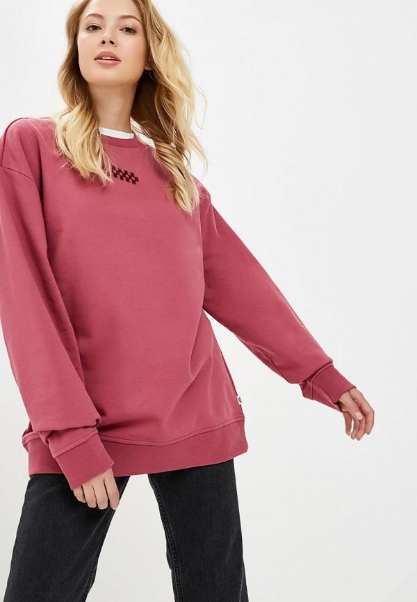 Купить Свитшот Vans, VA984EWCAKV8, розовый, Осень-зима 2018/2019
