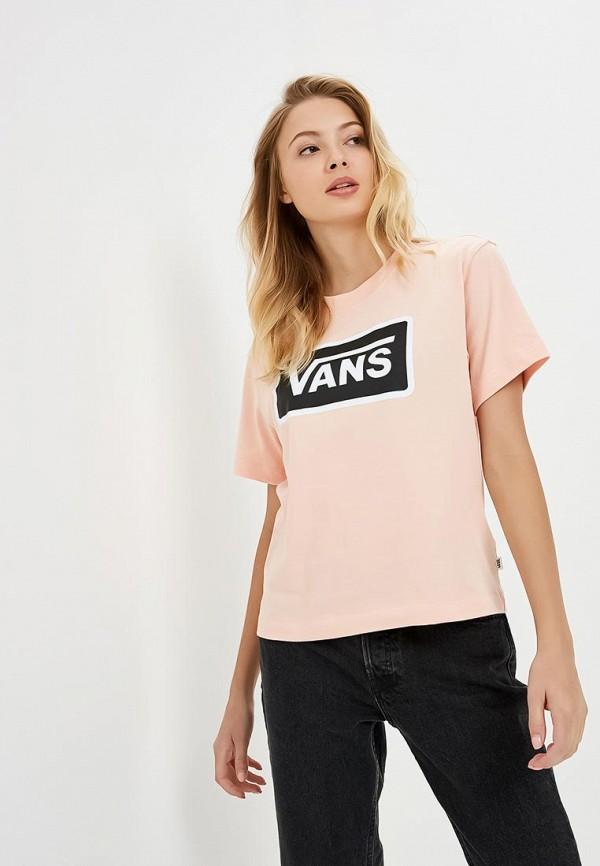 Футболка Vans Vans VA984EWCAKX7 футболка vans vans va984ewutq87