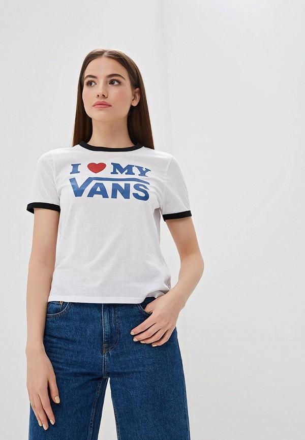 Фото - Футболка Vans Vans VA984EWEGBF7 кеды мужские vans ua sk8 mid цвет белый va3wm3vp3 размер 9 5 43