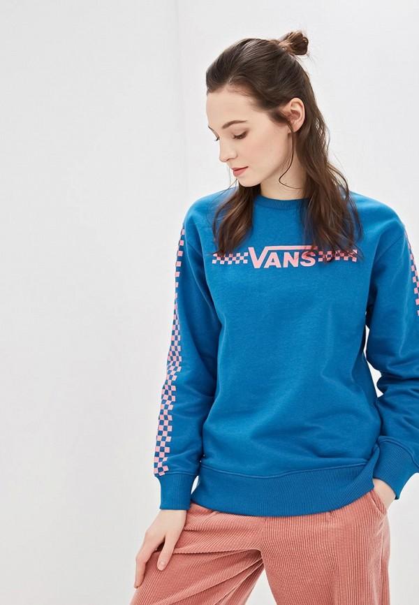 женский свитшот vans, синий