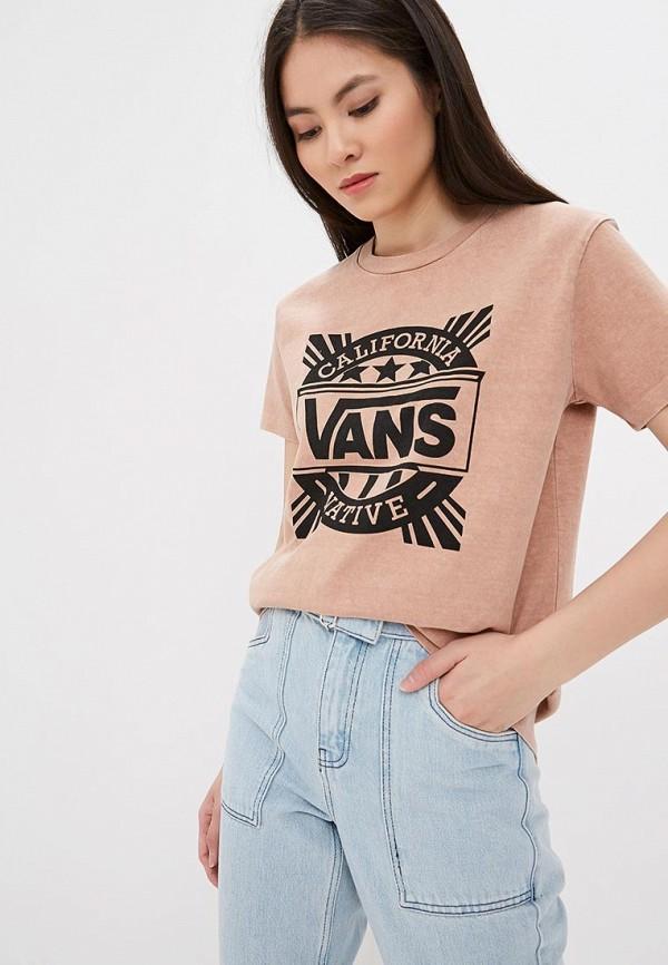 Футболка Vans Vans VA984EWEGBJ0 футболка vans vans va984ewegbf9
