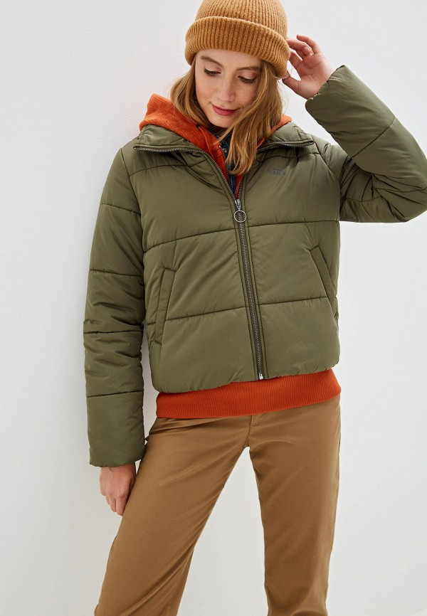 женская куртка vans, хаки