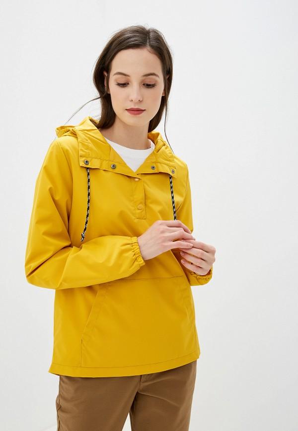 женская ветровка vans, желтая