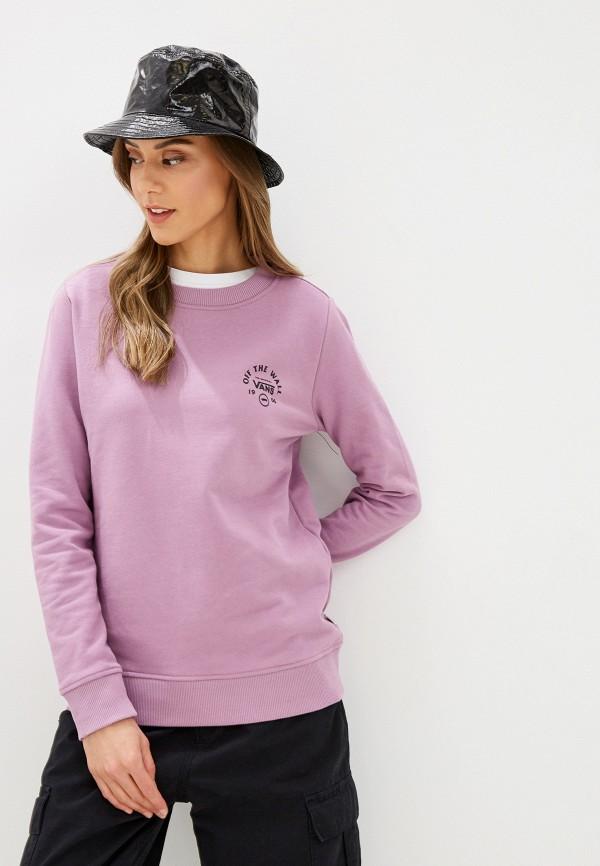 женский свитшот vans, фиолетовый