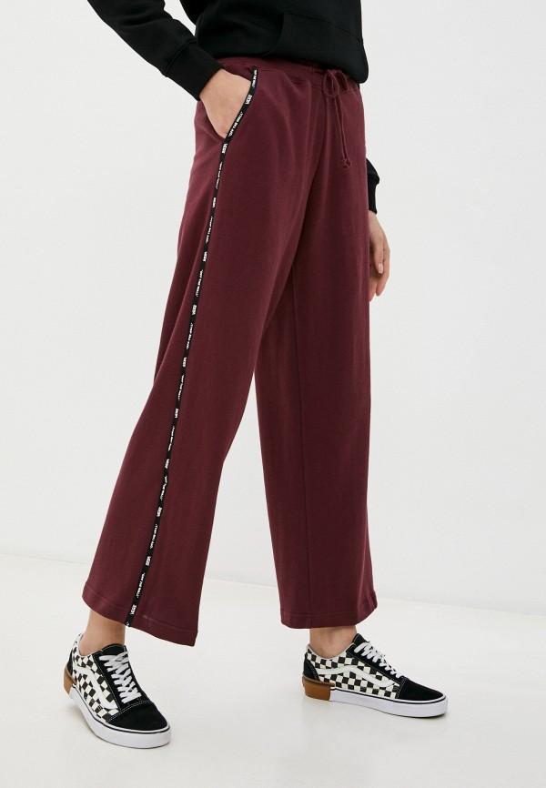 женские спортивные брюки vans, бордовые