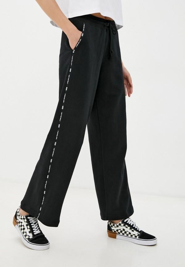 женские спортивные брюки vans, черные