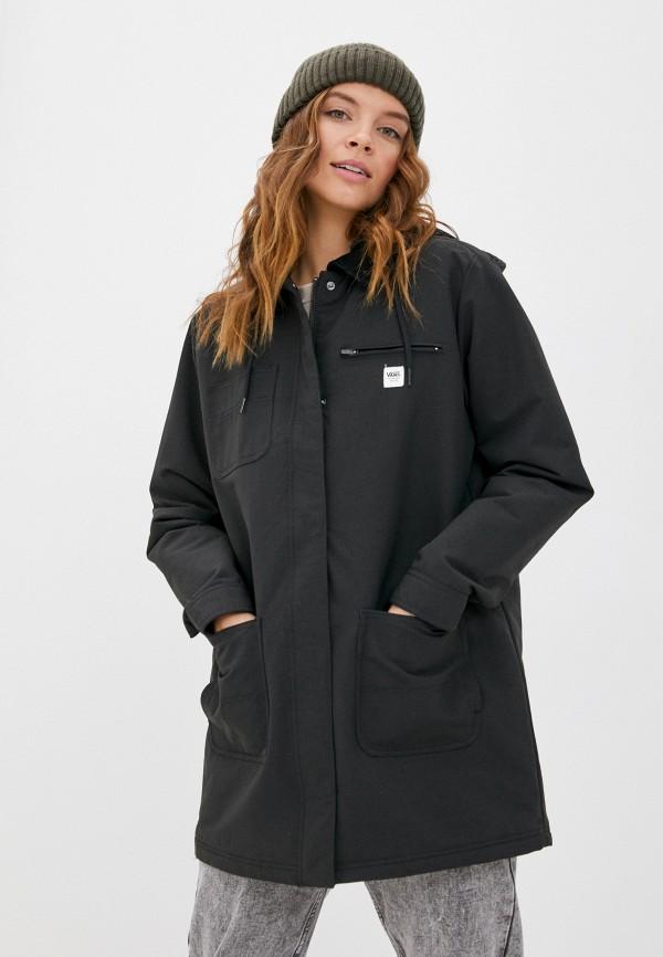 женская куртка vans, черная