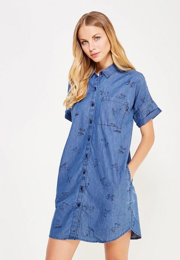 Платье джинсовое Vans Vans VA984EWUJG68 платье vans vans va984ewujg67