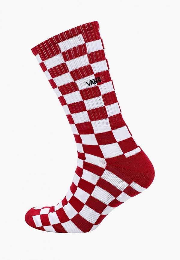 мужские носки vans, красные