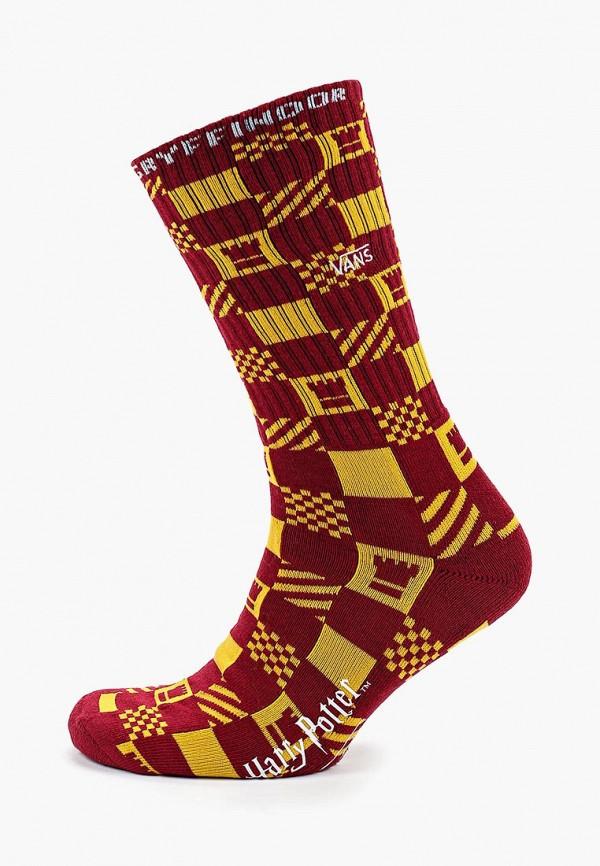 мужские носки vans, бордовые