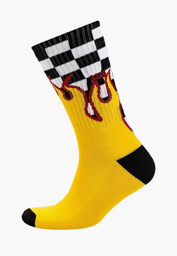 мужские носки vans, желтые