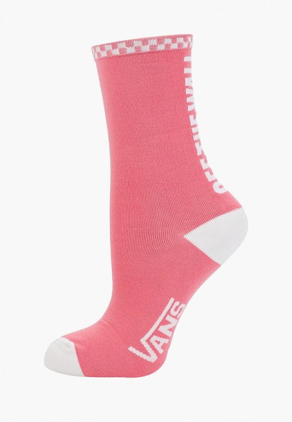 женские носки vans, розовые