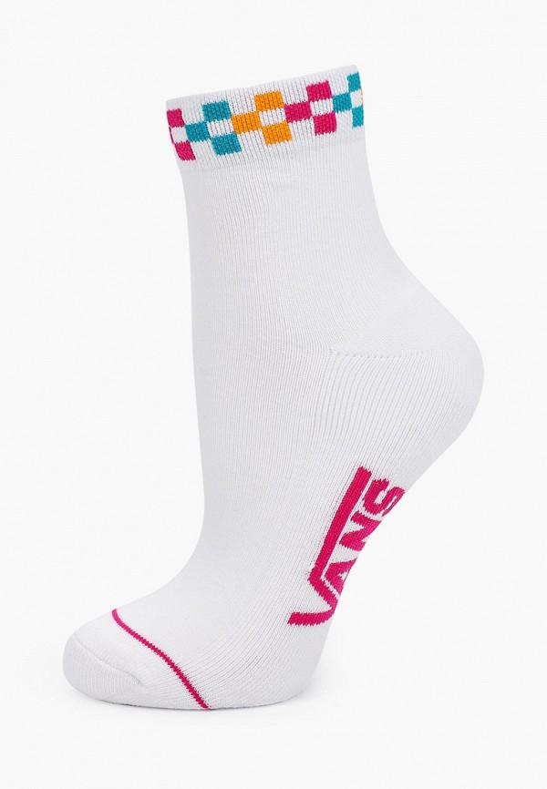 женские носки vans, белые