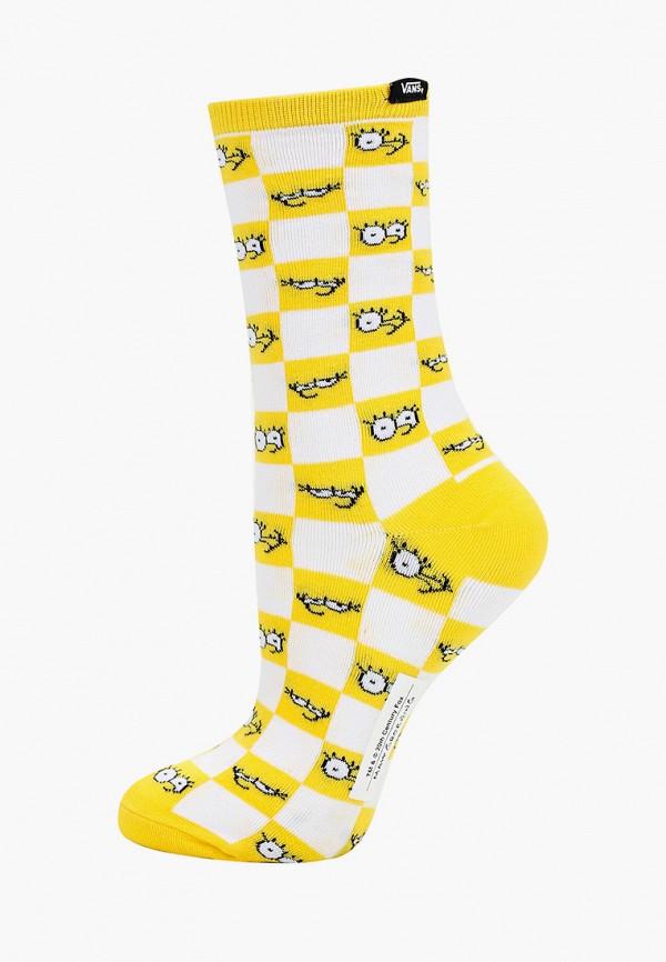 женские носки vans, желтые