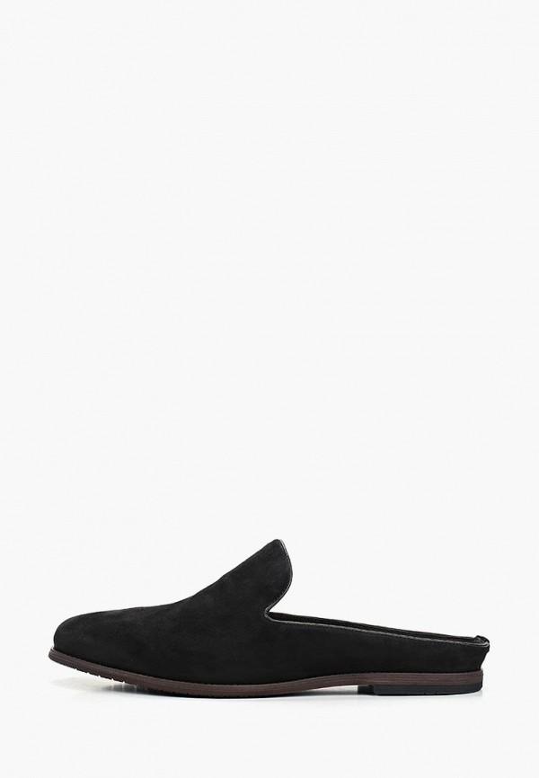 мужские лоферы velvet, черные