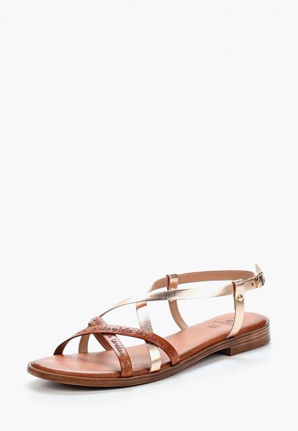 женские сандалии velvet, золотые